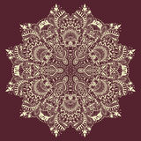 Ornamental lace pattern Royalty Free Stock Photography