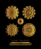 Ornamental lace pattern for wedding invitations and greeting cards. Stock Photography