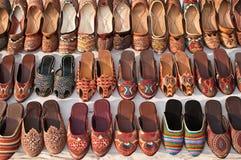 Ornamental ladies shoes Stock Image