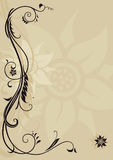 Ornamental letterhead. Vintage style letterhead with ornament Royalty Free Stock Photography