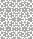 Ornamental linear pattern. Detailed vector illustration. Seamless black and white texture. Mandala design element. Stock Photo