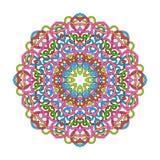Ornamental mandala. On white background Stock Photo