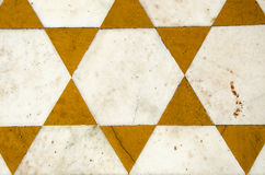 Ornamental marble floor  background in temple, India Stock Images