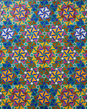 Ornamental Moroccan tile Stock Images