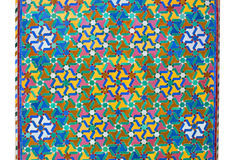Ornamental Moroccan tile Stock Photography