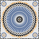 Ornamental morocco seamless pattern. Stock Images