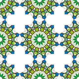 Ornamental morocco seamless pattern. Royalty Free Stock Images