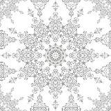 Ornamental morocco seamless pattern. Stock Image