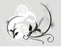 Ornamental motif Royalty Free Stock Image