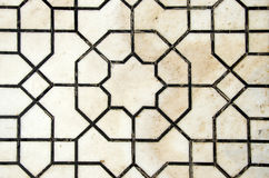 Ornamental old marble background in temple Stock Image