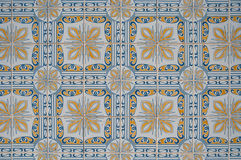 Ornamental old tiles Stock Image