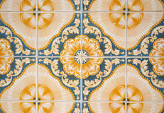 Ornamental old tiles Royalty Free Stock Image