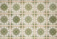 Ornamental old tiles. Ornamental old typical tiles from Portugal Royalty Free Stock Image