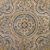 Ornamental old typical tiles stock image