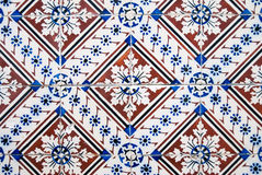 Ornamental old typical tiles Stock Photo