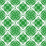 Ornamental Oriental Beautiful Green Royal Floral Vintage Spring Abstract Seamless Pattern Texture Wallpaper. Oriental Ornamental Abstract Floral Flower Seamless vector illustration