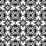 Ornamental Oriental Black Floral Beautiful Royal Vintage Spring Abstract Seamless Pattern Texture Wallpaper stock illustration