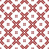 Ornamental Oriental Red Royal Vintage Arabic Chinese Floral Seamless Abstract Pattern Texture Wallpaper. Red Oriental Ornamental Abstract Floral Seamless stock illustration