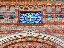 Ornamental Orthodox church facade Royalty Free Stock Images