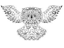 Ornamental Owl Stock Photo