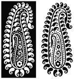Ornamental paisley design Stock Image