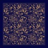 Ornamental Paisley pattern, design for pocket Royalty Free Stock Photo