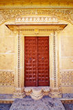 Ornamental palace door Royalty Free Stock Photos