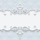 Ornamental paper frame Stock Photos
