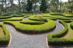 Ornamental park Royalty Free Stock Photo