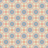 Ornamental pattem, pastel Royalty Free Stock Images