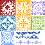 Ornamental pattern Stock Photo