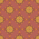 Ornamental pattern. Bright Ornamental pattern in oriental style Royalty Free Stock Photography