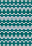 Ornamental pattern in celadon. Illustration ornamental colour texture or pattern. Available in vector EPS format Stock Images