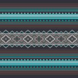 Ornamental pattern for knitting and embroidery. American Indians, Navajo, tribal, ethnic fabric. Stock Photo