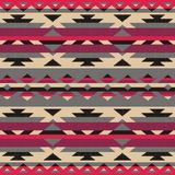 Ornamental pattern for knitting and embroidery. American Indians, Navajo, tribal, ethnic fabric. Fashion pixel art Royalty Free Stock Photography