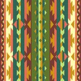 Ornamental pattern for knitting and embroidery. American Indians, Navajo, tribal, ethnic fabric. Stock Photography