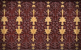 Ornamental Pattern Of Metal Stock Photography