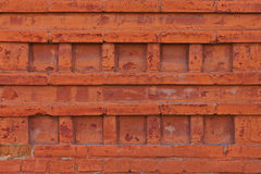 Ornamental pattern of an old brick wall, texture Stock Photography