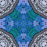 Ornamental pattern tile Royalty Free Stock Photo