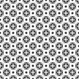 Ornamental pattern. Traditional motif, oriental style. Ornamental pattern. Vector seamless pattern, ornamental monochrome geometric texture. Black & white Stock Image