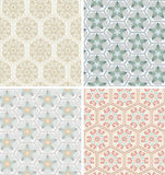 Ornamental patterns Royalty Free Stock Photo