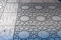 Ornamental pavement Royalty Free Stock Photography