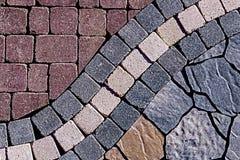 Ornamental paving 2 Stock Image