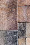 Ornamental paving Royalty Free Stock Images