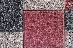 Ornamental paving 4 Stock Images