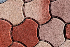 Ornamental paving 7 Stock Images