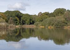 The Ornamental Pond, Southampton Common Royalty Free Stock Photography