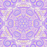 Ornamental purple pattern Royalty Free Stock Photography
