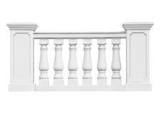 Ornamental railings Stock Image