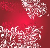 Ornamental red background Royalty Free Stock Photography